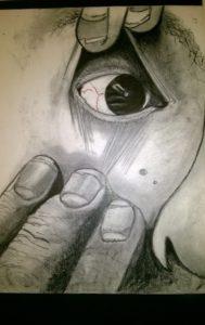 An eyeful by David Jones