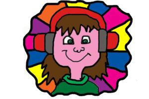 DJ RAINBOW by NATALIE PRIEST