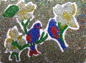 Glitter Birds by Donna Donnelly