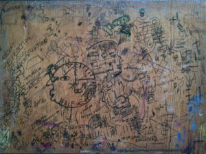 Drawing Board (The Explanation) by Gerald Shepherd