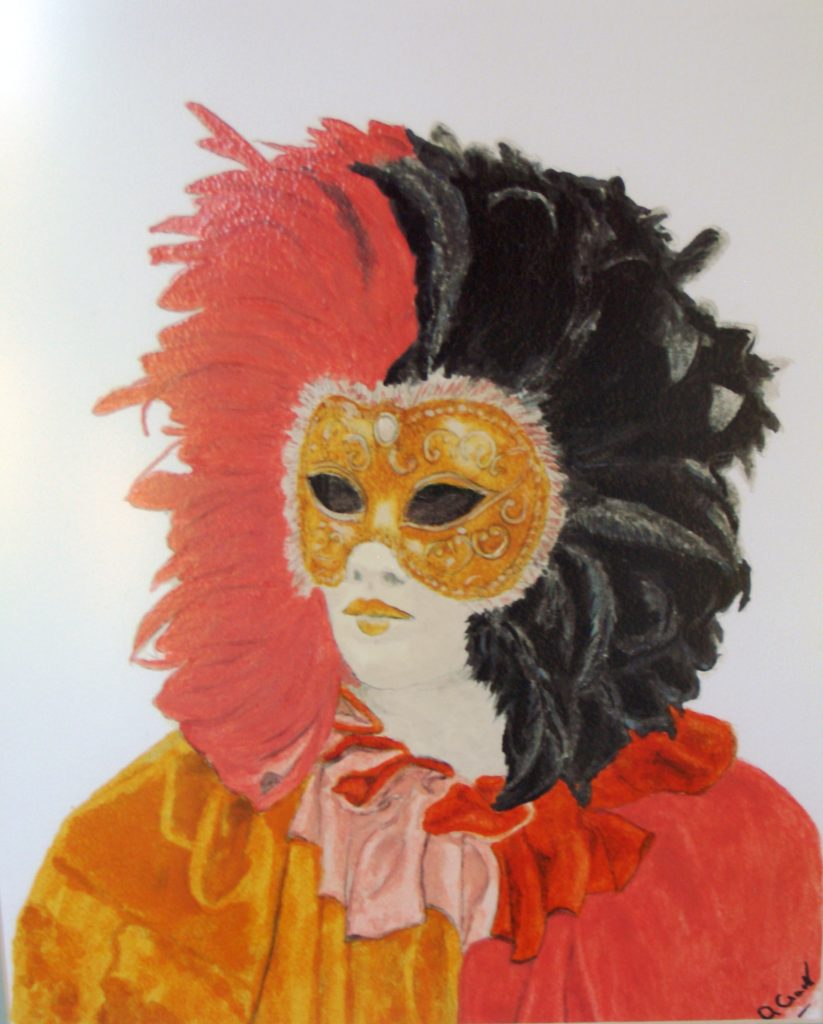 8227 || 679 || Carnival Mask || If you intend to put this work up for sale || 463