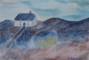 house on the ridge by Sylvia Scarsbrook