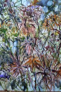 Faded flowers by Emma Dunphy
