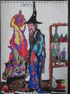 Apothecary (1976) by Neal Pearce