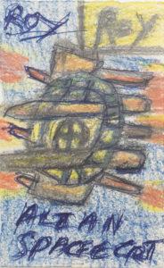 Alian Spacfecrt (Alien Spacecraft) by Roy Collinson