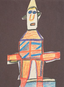Untitled (Cut out Figure) by Roy Collinson