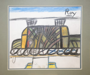Untitled (Train) by Roy Collinson