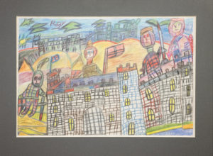 Untitled (Castle with Soldiers) by Roy Collinson