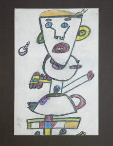 Untitled (Totem with Teapot) by Roy Collinson