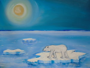 Polar Bear called Brutus by nicholas marsh