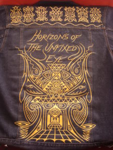 'Horizons of the Unfixed Eye' jacket design by Neal Pearce