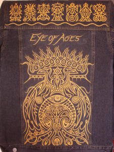 'Eye of Ages' jacket design 2009 by Neal Pearce