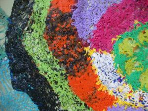 Rainbow Snail (detail) by Freda Harrington