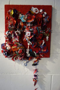 untitled wallpiece by Kathy Sweet