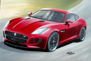 Jaguar F Type S by Michael George