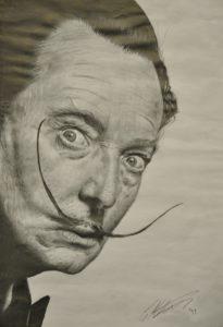 Salvador Dali by Russ Abbott