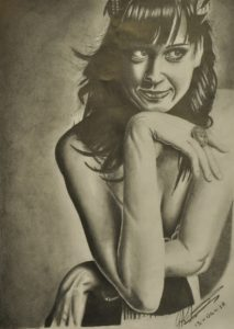 Katy Perry by Russ Abbott