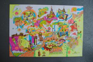 Oxford Landscape by Moez Arts
