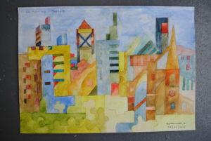 Oxford 'En Plein Air' by Moez Arts