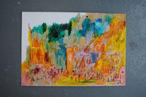 Oxford Crowd by Moez Arts