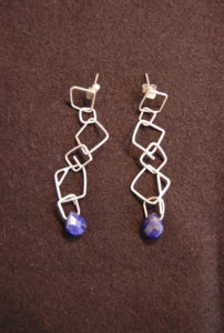 Earrings by Carolyn Lucas