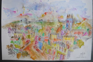 High Street Oxford by Moez Arts