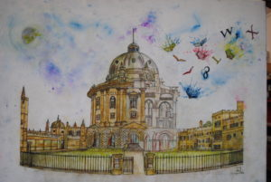 Radcliffe Camera Oxford by Moez Arts
