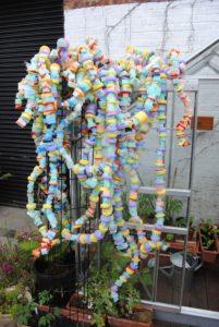 Threaded Sculpture by Mary Ogunleye