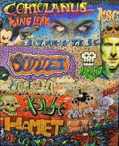 Bard Graffiti by Artisian