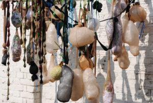 Hanging Frame 1 (detail) by Linda Bell