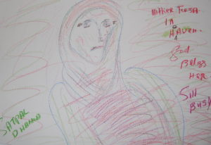 Mother Theresa by Satpal Dhanoa