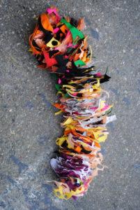 Small Threaded Sculpture by Mary Ogunleye