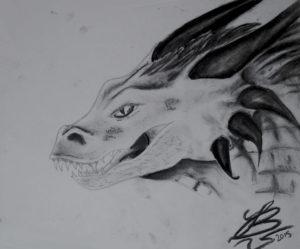 Dragon by Feldren's Nebula