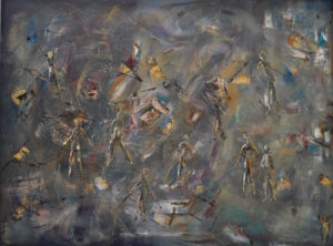 Figures in a Landscape by Liliana Gallagher