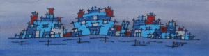 Blue Stickle Bricks by MADARTS