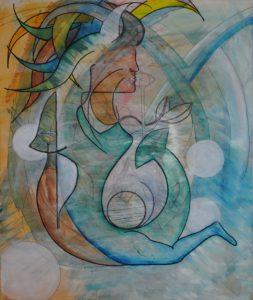 Mermaid of vice by Ivana Vavreckova