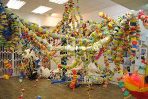 Installation at Wandsworth Arts Festival by Mary Ogunleye