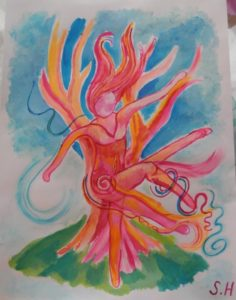 Dancing Willow by Suz Hemming