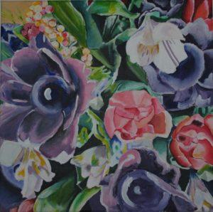 Bouquet (2015) by Ivana Vavreckova