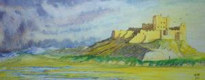 Bamburgh Castle by Michael Morrison