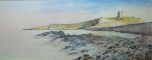 Dunstanburgh Castle by Michael Morrison