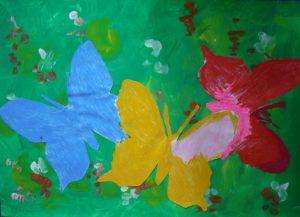 Butterflies by Edwina Slinn