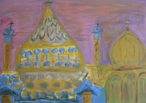 Brighton Pavilion from afar by Tom Paine