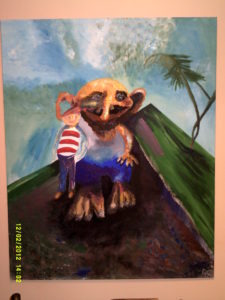 Troll and boy by richardsheils