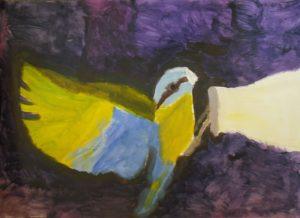 Bird in a Bottle by Keith  Honeyman
