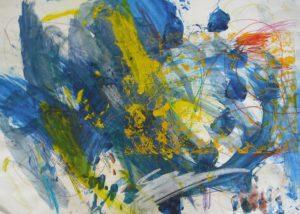 Large Blue by Sarah Yates