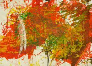 Large Orange by Sarah Yates