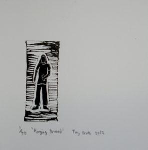 Hanging Around by Tony Brooks
