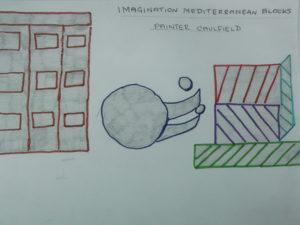 Imagination Mediterranean Blocks by Dave  King