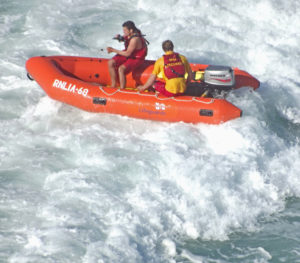 RNLI to the rescue by Perspicador